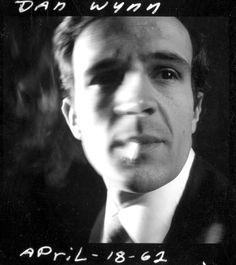 Francois Truffaut, photographed by Dan Wynn in 1962.