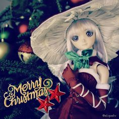 Merry Christmas to you!  #christmas #christmastree #merrychristmas #dollphotography #dollfie #dollfiedream #melty #volksdoll #instadoll #toyphotography #dollstagram #toygroup_alliance #toyunion #メリークリスマス #人形