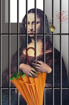 monalisa - Page 13 La Madone, Mona Lisa Parody, Mona Lisa Smile, Famous Art, Famous Women, American History, Walls, Paper, Image