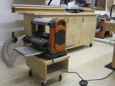 Planer cart - Lumberjocks