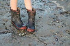 #kiwiness #gumboots #redbands.  A cultural identity for true kiwis.