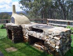 outdoor wood fired oven, for the artisan bread baker within