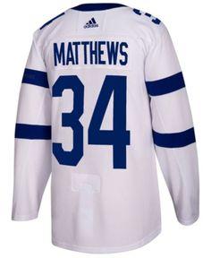 55252e026 adidas Men s Auston Matthews Toronto Maple Leafs Authentic Pro Stadium  Series Player Jersey - White 50