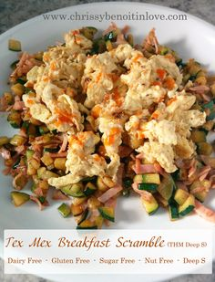 Tex Mex Breakfast Scramble (THM Deep S)