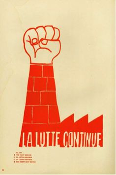 """Atelier Populaire - """"Consommez"""" - 1968 - poster - posters from French protests of May 1968"""