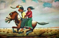 IMAGE(I)NARTE: el arte de la imaginación: FLORENCIO MOLINA CAMPOS: ¡AHIJUNA CON ESTO DEL ARTE! Gaucho, Culture, Cartoon, Blog, David, Painting, Vintage, Animated Cartoons, Frames