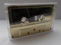 Audiokassetten GOLD Type II Chrome Position 90 min Leerkassetten