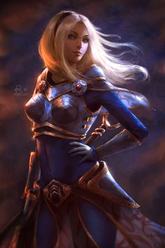 League of Legends: Luxanna Crownguard by raikoart Lux female fighter ranger sorcerer sorceress wizard warlock witch staff armor clothes clothing fashion player character npc | Create your own roleplaying game material w/ RPG Bard: www.rpgbard.com | Writing inspiration for Dungeons and Dragons DND D&D Pathfinder PFRPG Warhammer 40k Star Wars Shadowrun Call of Cthulhu Lord of the Rings LoTR + d20 fantasy science fiction scifi horror design | Not Trusty Sword art: click artwork for source