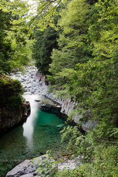Atera Valley, Nagano, Japan