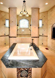Luxury Spa/Bath by Timber Ridge Properties traditional-bathroom