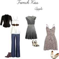 How To - Movie Looks: French Kiss (Apple Shape)