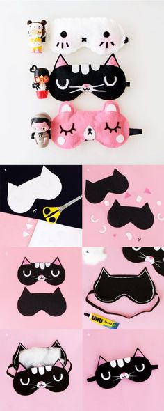 DIY - MOMIJI DOLL INSPIRED SLEEP MASKS
