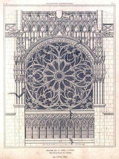 Rose window - Rouen