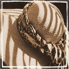 SHADY HATS  Photography series sepia floppy hats ladies women set straw lace. $24.00, via Etsy.