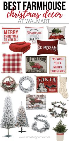 Farmhouse Christmas Decor Finds at Walmart - 2019 farmhousechristmasdecor Farmh.Farmhouse Christmas Decor Finds at Walmart - 2019 farmhousechristmasdecor Farmhouse Christmas Decor Finds at Walmart - Christmas Decor farmhouse Don't Knock It 'Til You Try Decoration Christmas, Farmhouse Christmas Decor, Cozy Christmas, Country Christmas, Xmas Decorations, Simple Christmas, Christmas Themes, White Christmas, Christmas Ornaments