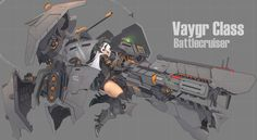 Guns, Planes, Ships and Tanks in Anime! Chibi Characters, Sci Fi Characters, Fantasy Character Design, Character Art, Mecha Suit, Sci Fi Anime, Fighting Robots, Anime Weapons, Robot Concept Art