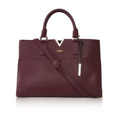 Sharp lines.  Avant carry-on vegan bag in Bordeaux and  by @labante_london