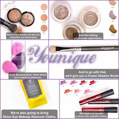 Coming Soon from Younique!! March 2015 - New Products - Bronzer, Lip Stain, Blending Buds, Makeup Remover, Eye Shadow, & a Eye Shadow Brush!!!