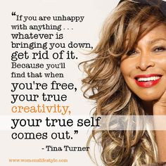 """Tina Turner asked the quintessential question: """"What's love got to do with it?"""" In the end, not enough. An extremely courageous woman, her talent has far eclipsed who and what she left behind. What an incredibly 'true self'."""