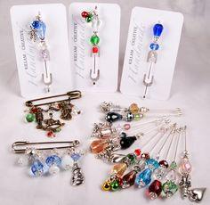 Killam Creative: Stick Pins and Christmas Brooches