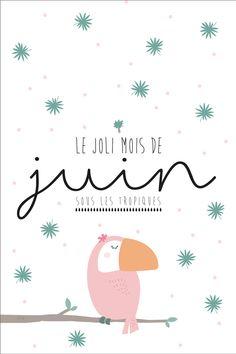 Calendar of June to print - Life in more beautiful Bullet Journal Page, Junk Journal, Flat Design Illustration, Children's Book Illustration, Diy Agenda, Diy Organisation, Mood Instagram, Happiness Project, Cartoon Pics