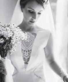 Escotes de novia especiales con encajes antiguos