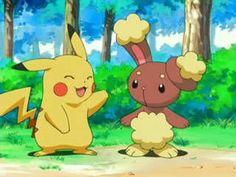 Pikachu and Buneary