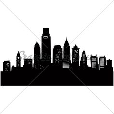 Cartoon Philadelphia · GL Stock Images