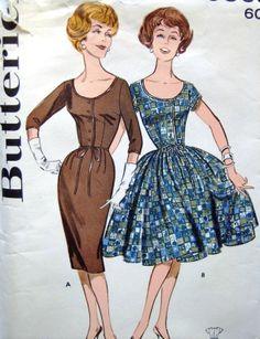 50s pattern 019 custom order dress [pattern 019] - £49.99 : Queen of Holloway, Dressing Shop