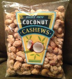 trader joe's coconut cashews - Google Search