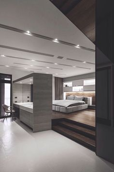 Luxury Connoisseur//Modern, Minimalist Bedroom Design Lo Residence By LGCAu2026