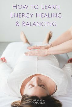 Learn powerful holistic practices for energy healing: http://karamariaananda.com/maia-method