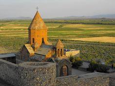 Khor Virap, Armenia by EuphemiArt