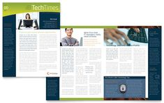 Techtimes free newsletter template