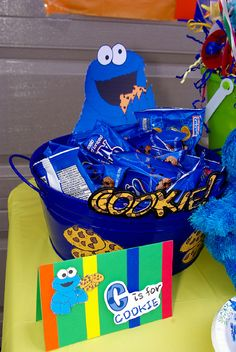 "Photo 1 of 24: Sesame Street Party / Birthday ""Follow Annika to Sesame Street""…"
