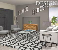 Modern unique livingroom by tiffani valencia