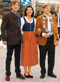 Prince Ernst of Hanover with spouce Princess Caroline and Prince Leopold  of Bavaria