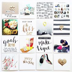 Project Life by findingnana using Paislee Press's Let's Go Journal Cards #paisleepress