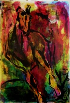 Race Horse http://sportsbettingarbitrage.in Maybe black glue lines, and watercolor