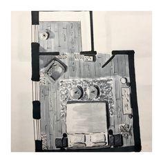 Indelingsplan voor mijn klant. Wil JIJ ook veranderingen in je huis, maar je weet niet hoe? Check mijn website STYLING22.nl voor meer inspiratie en informatie. #kleurinspiratie #indelingsplan # interior design #interieur #interieurontwerp #plattegrond #indeling #woonkamer #livingroom #slaapkamer #bedroom #keuken #kitchen #floorplan #markers