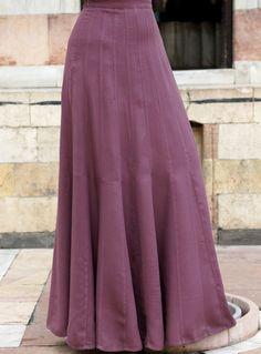 SHUKR USA   24-Gore Godet Skirt