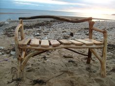 Hey, I found this really awesome Etsy listing at https://www.etsy.com/listing/119070202/handcrafted-driftwood-bench