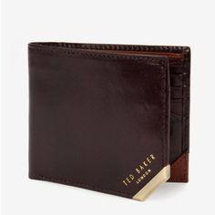 KORNING二つ折財布 チョコレート テッドベーカー  TED BAKER オンライン通販【テッドベーカースタイル】