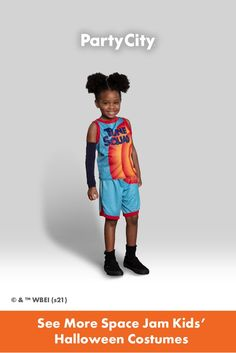 Become your favorite characters with Party City's collection of kids Halloween costumes. Tune Squad, Kids Suits, Space Jam, Halloween Costumes For Kids, Shorts, Tank Tops, Party, Fun, Characters