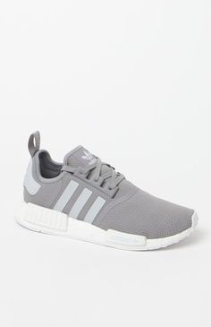 NMD_R1 Grey & White Shoes