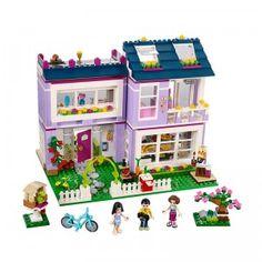 friends Princess girls Building blocks Emma's House Legoing Friends 41095 figure Bricks classic educational toys for children. Lego Toys, Lego Duplo, Lego Ninjago, Toys R Us, Kids Toys, Legos, Lego Friends Sets, Friends Series, Shop Lego