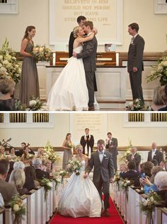 Ceremony at Covenant Presbyterian Church, St. Louis.  www.beautifulmessphoto.com