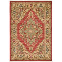 You'll love the Zoey Red Area Rug at Wayfair - Great Deals on all Rugs products with Free Shipping on most stuff, even the big stuff.