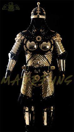 Modern replica of Tang Dynasty armor.