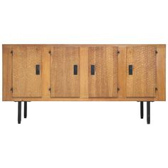 Jean Touret for Atelier Marolles Sideboard   From a unique collection of antique and modern sideboards at https://www.1stdibs.com/furniture/storage-case-pieces/sideboards/